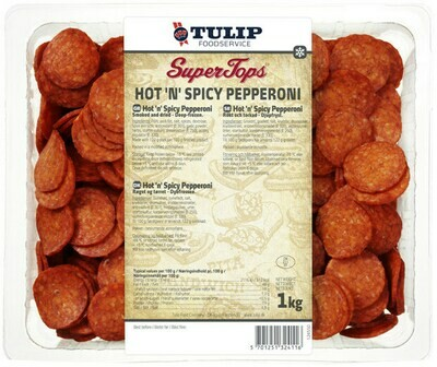 S.T. Hot 'n' Spicy Pepperoni