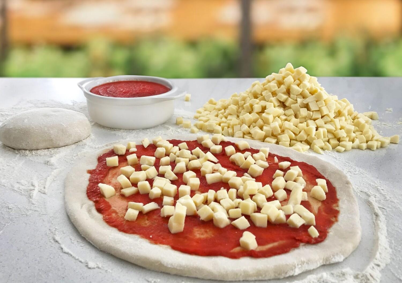 Premium Cubed Mozzarella (10mm)