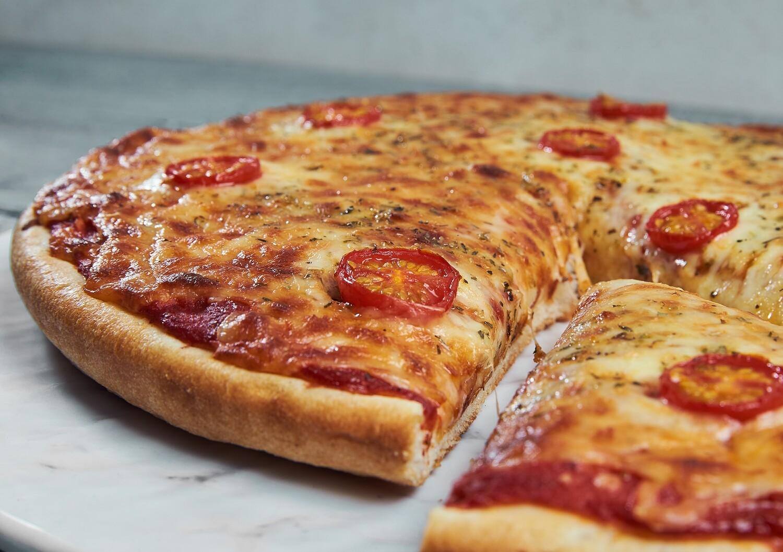 """9"""" Deep Sour Dough Pizza Base"""