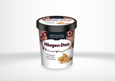 Häagen Dazs - Peanut Butter Crunch (Obsessions Range)