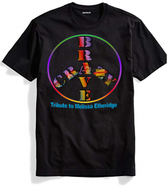 Brave and Crazy PRIDE Peace T-Shirt