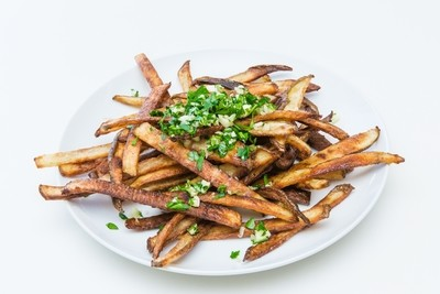 Baked French Fries with Garlic