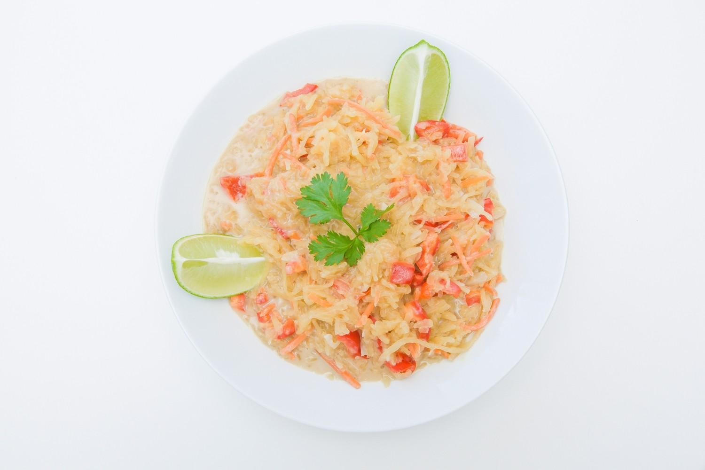 Coconut Curry Spaghetti Squash