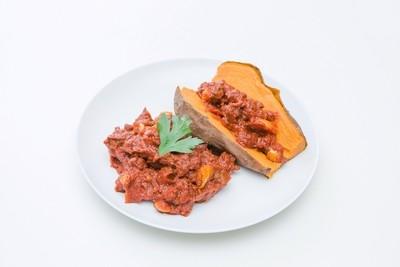 Sloppy Joe Bowl with Sweet Potato