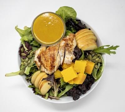 Fall Harvest Salad with Pumpkin Vinaigrette