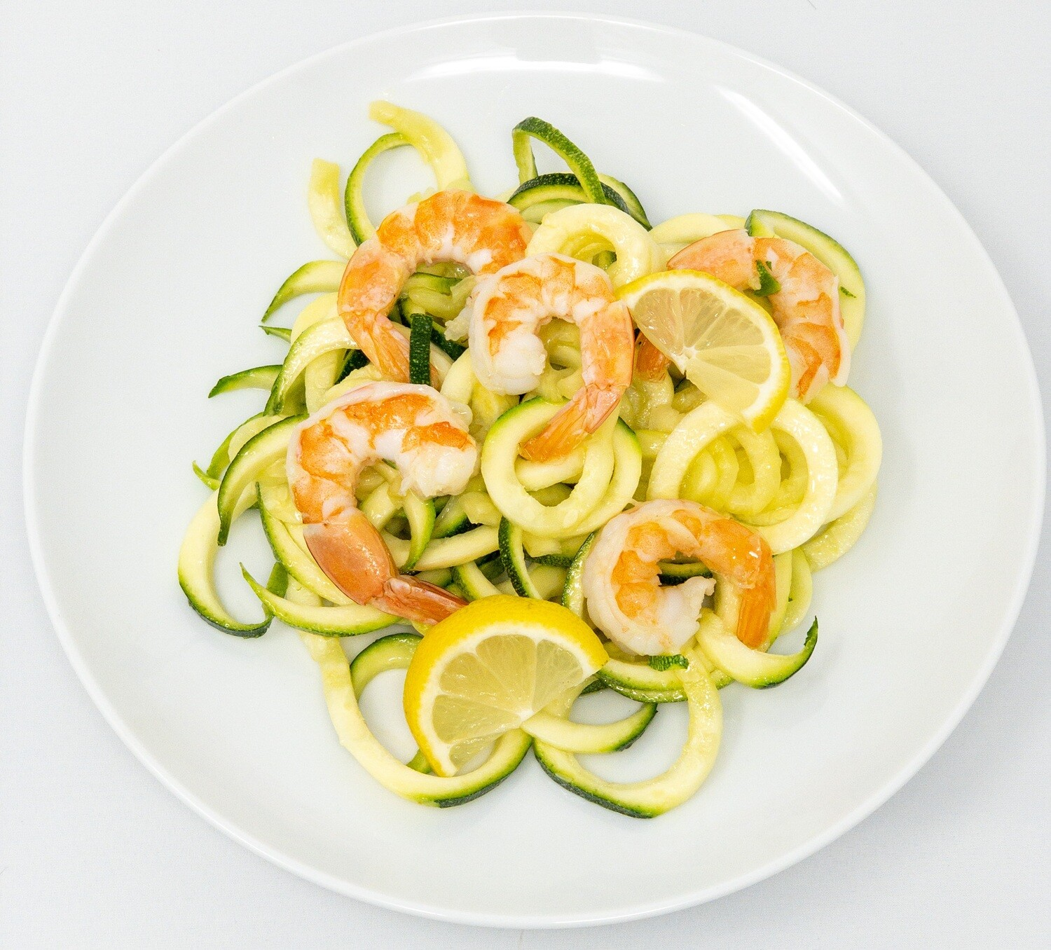 Wild Caught Shrimp Scampi with Zoodles