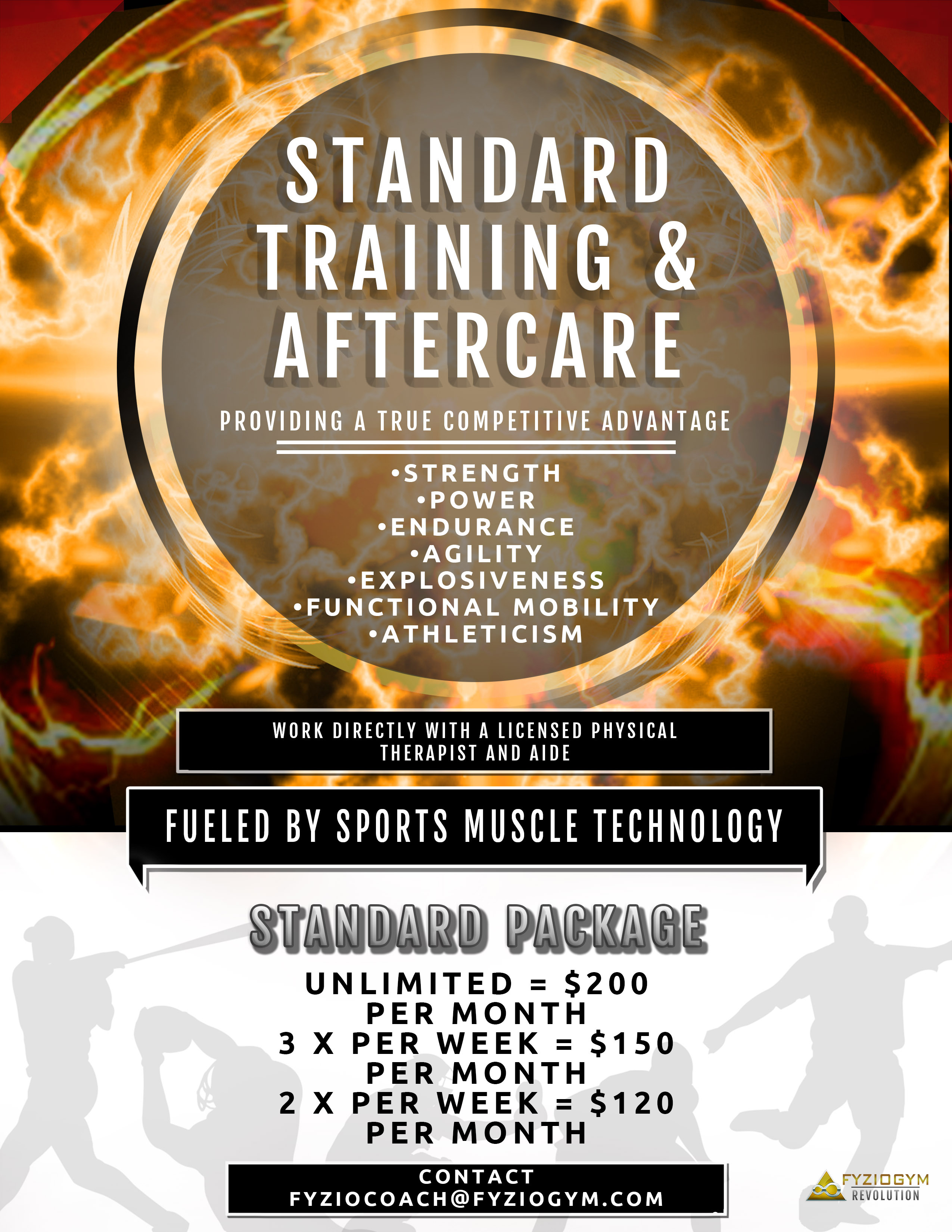 Standard Training & Aftercare 00010