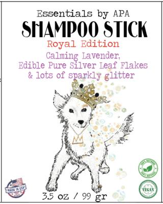 100% Natural Organic Shampoo Bar for Royal Dogs ~ Lavender & Edible