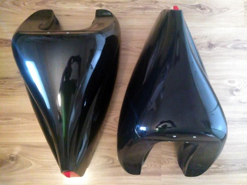 Tailbox Dolphin Fiberglass - Shipping Cost FREE!