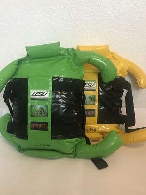 LESU TURTLE BAG - FREE  sparring mitts (Green 3.5kg)