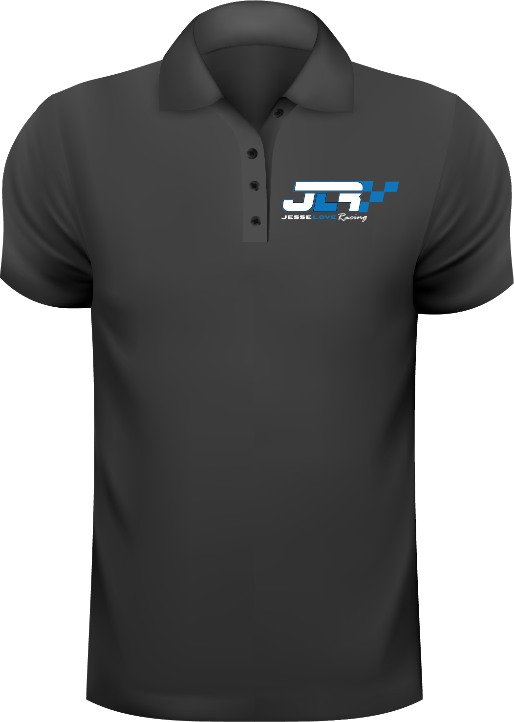 Jesse Love Embroidered Polo Shirt