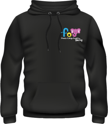Friends of Jaclyn Racing Embroidered Hoodie