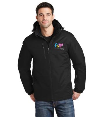 Friends of Jaclyn Racing Vortex Waterproof 3-in-1 Jacket