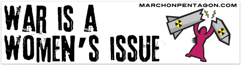 War Is A Women's Issue Bumper Sticker