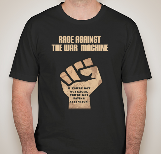 Rage Against the War Machine T-Shirt - Medium