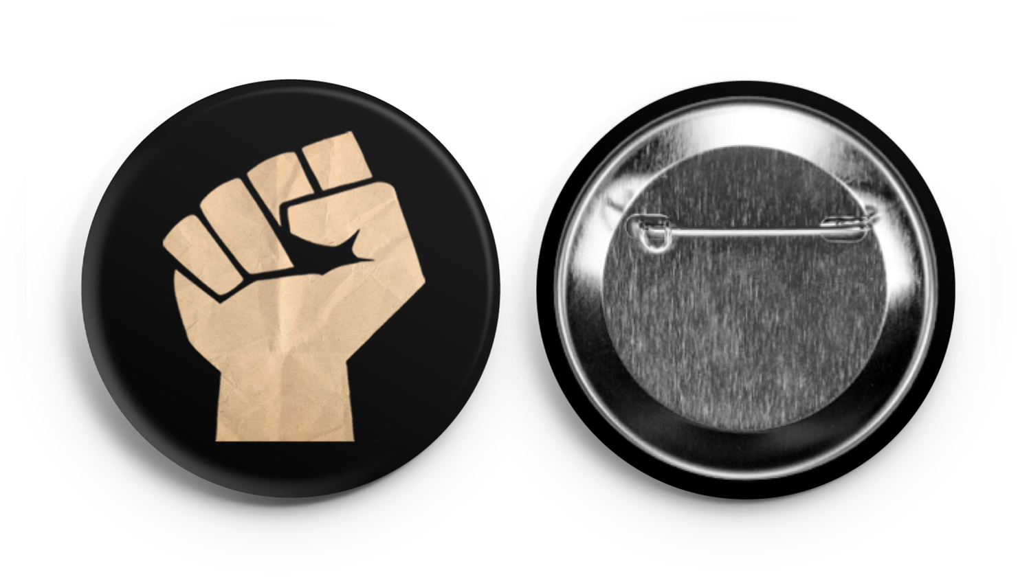 Rage Against the War Machine Fist Button