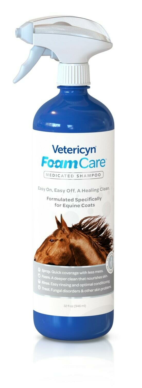 Vetericyn FoamCare Eerste Hulp Paardenshampoo