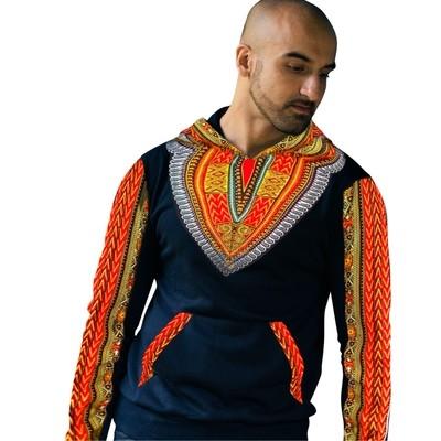 African Hoodie - Dashiki Hoodie Unisex
