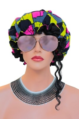 African Satin Bonnets Collection 4