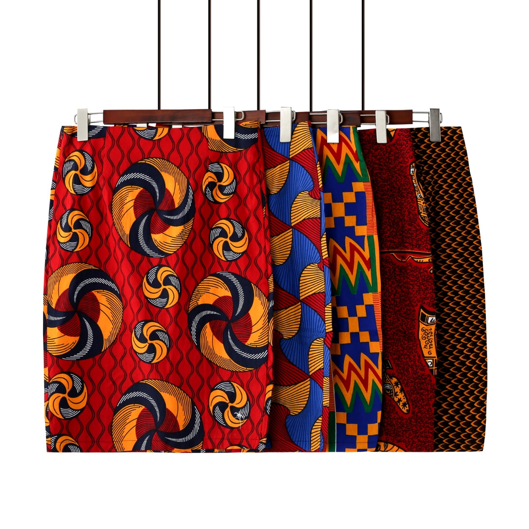 African Skirts - Pencil Skirts