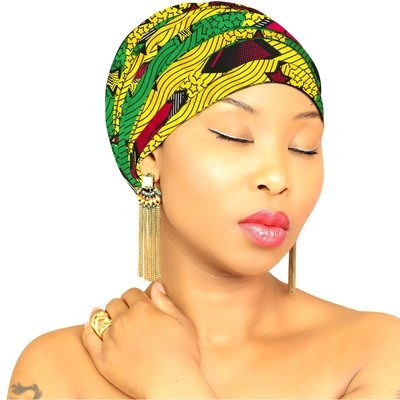 African Head Wrap - Tribal