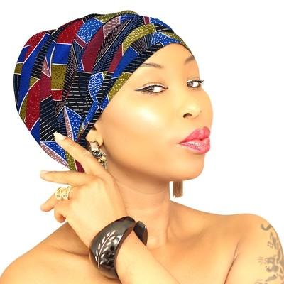 African Head Wrap - Jade