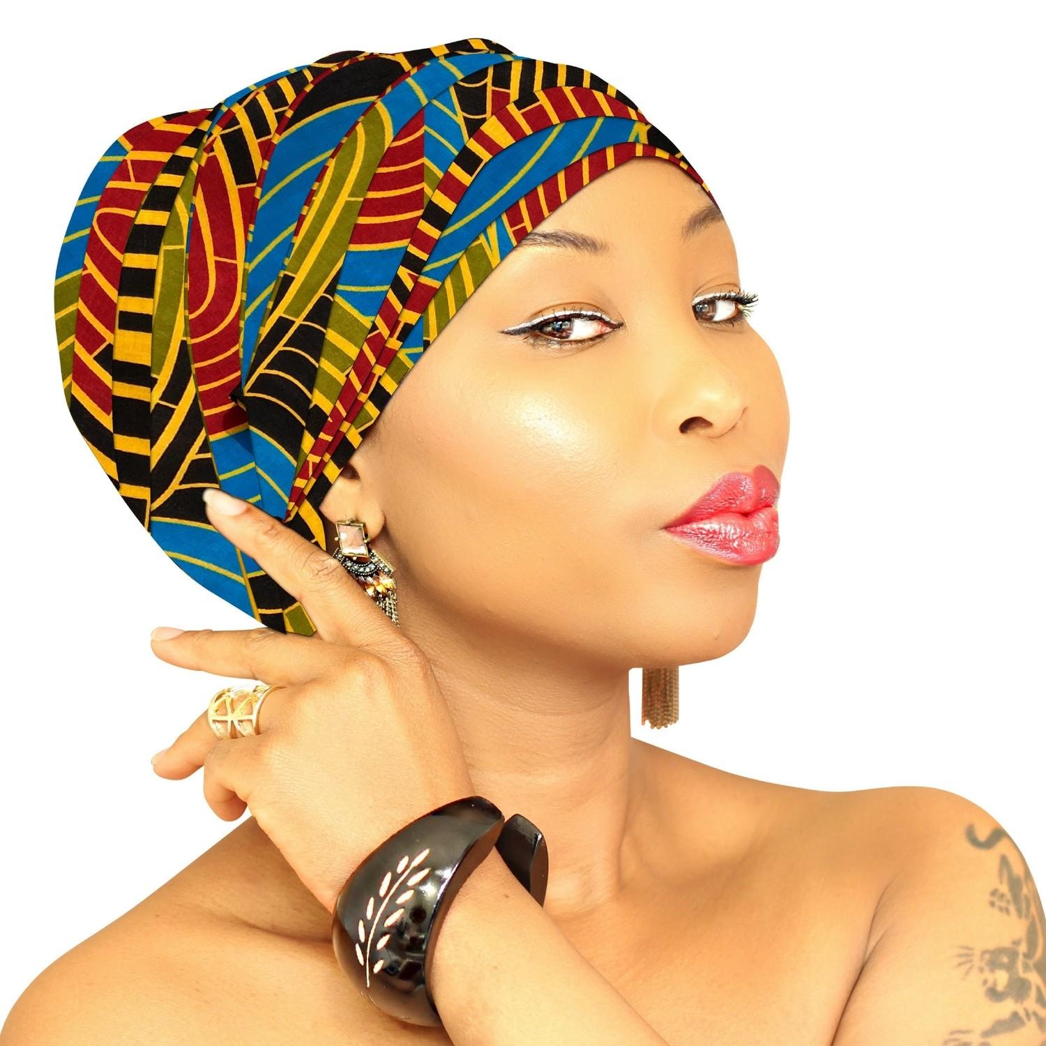 African Head Wrap - African Queen