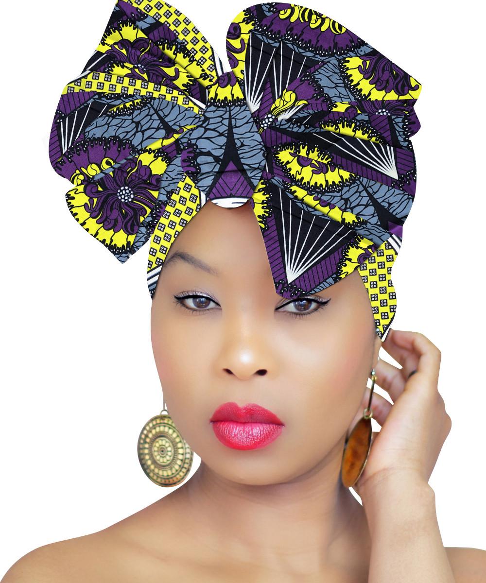 African Head Wrap - Nubian Royalty