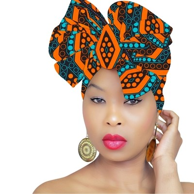 African Head Wrap - Sana Tribe