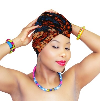 African Head Wraps - Chika