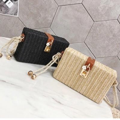 Rattan Style Bag - Boho Bags