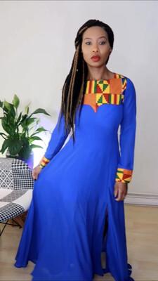 African Dress - Kente Dress