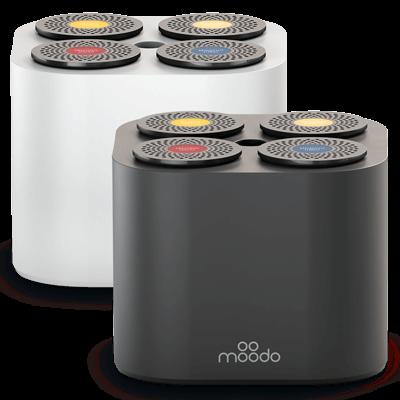 1 Moodo Smart Aroma Diffuser + 1 FREE Capsules pack