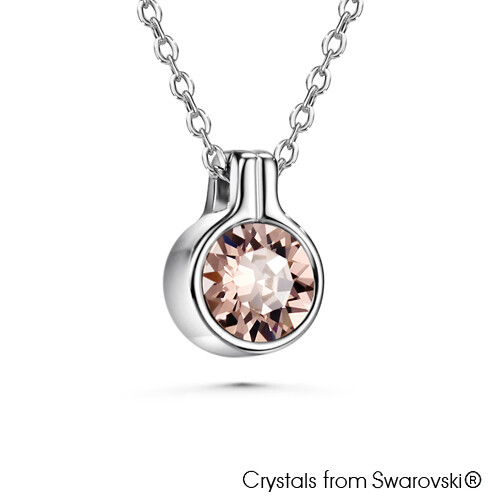 LUSH Necklace - Solitaire (ROSE)