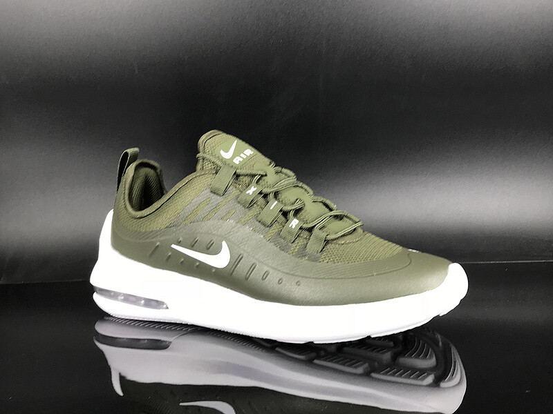 Mens Nike Air Max Axis 98 Green White Running Shoes