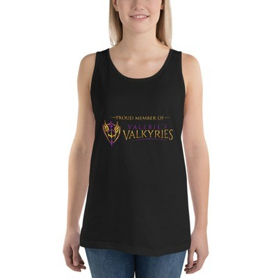 Unisex Tank Top -Front logo-Valkyrie