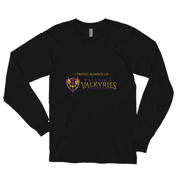 Long sleeve t-shirt -Front Logo-Valkyrie