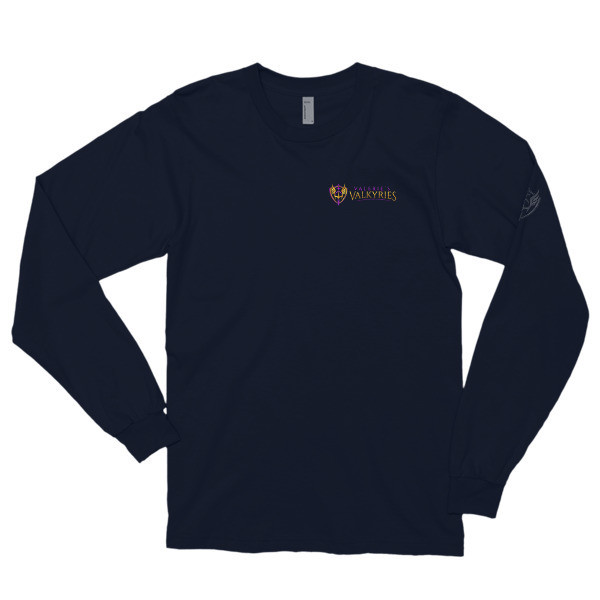 Long sleeve t-shirt -Front/Back Logo-Valkyrie