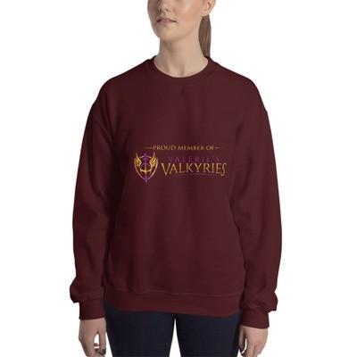 Sweatshirt -Front Logo-Valkyrie