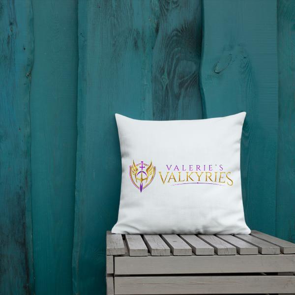 Premium Pillow - Logo-Valkyrie