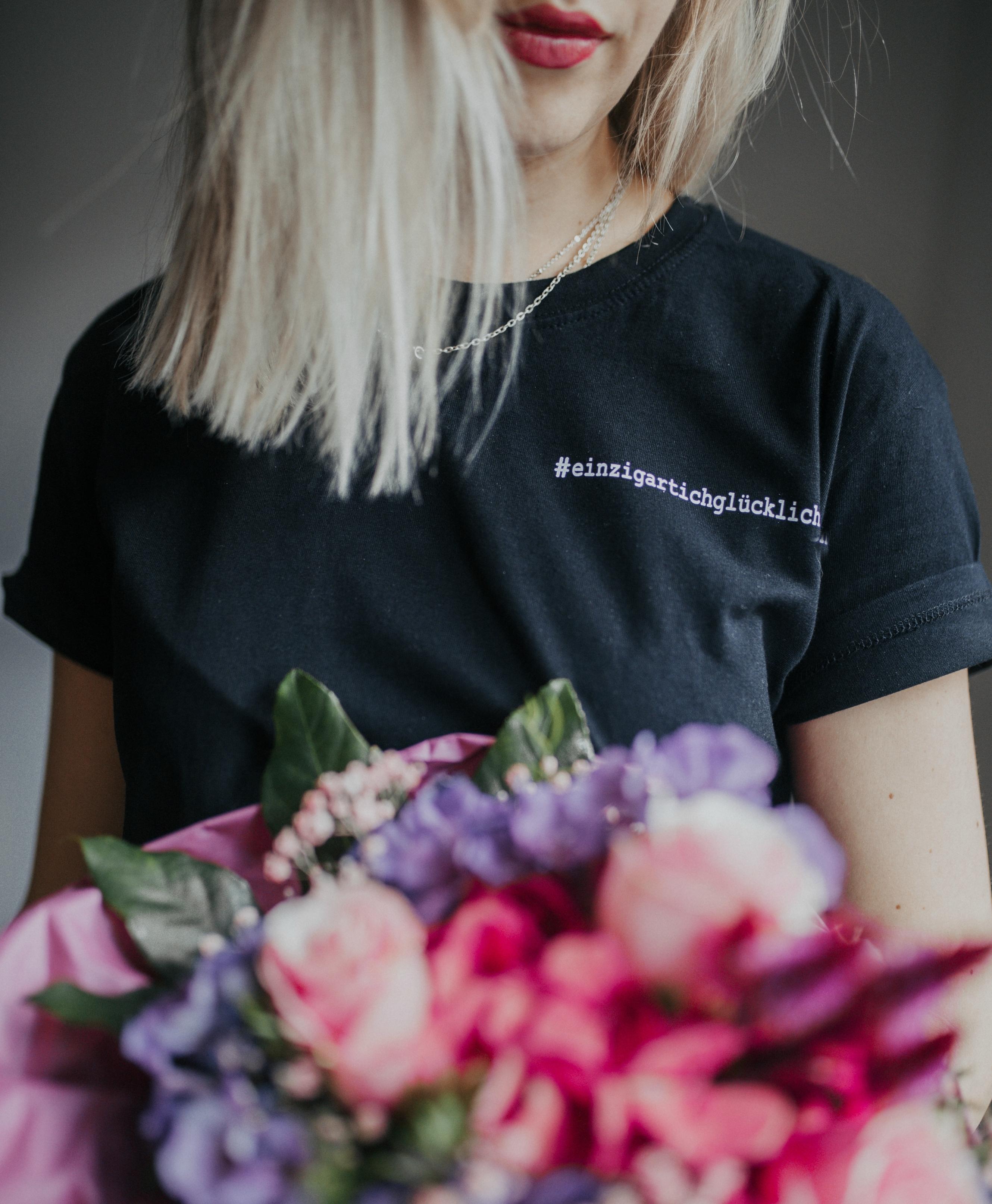T-Shirt #einzigartichglücklich