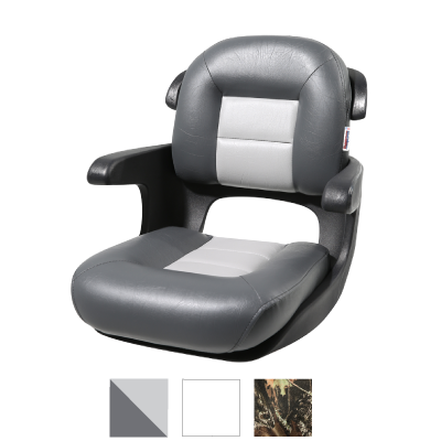 Elite Helm Low-Back Boat Seat