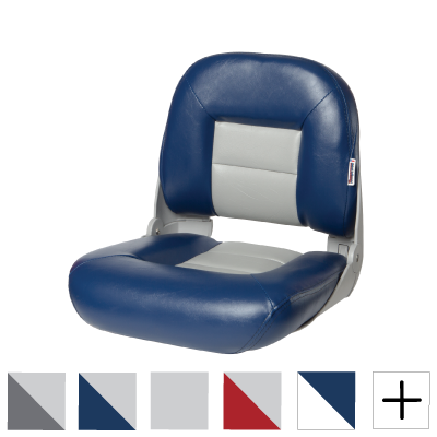 TEMPRESS NAVISTYLE LOW BACK BOAT SEAT CHARCOAL//GRAY 54675