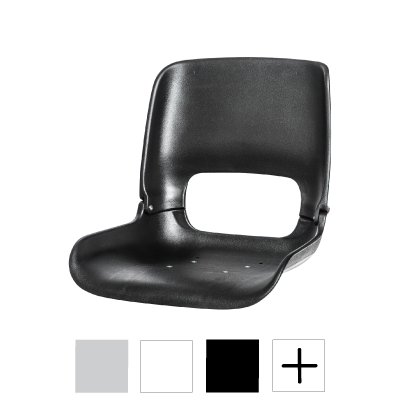 All-Weather High-Back Seat Shell  w/ T-Nuts