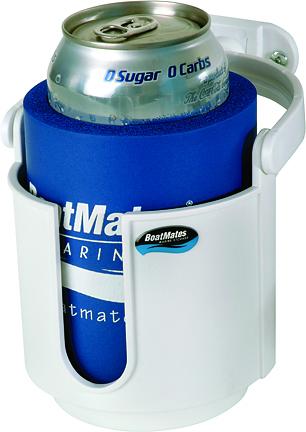 BoatMates® Swivel Drink Holder - White
