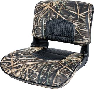 Profile™ Guide Series Boat Seat & Cushion Combo - Mossy Oak Shadowgrass / Black Perf