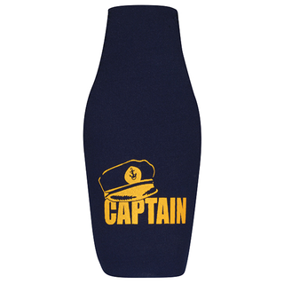 Bottle Buddy - Captain  - Navy/Gold