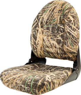 NaviStyle™ High-Back Camo Boat Seat - Mossy Oak Shadowgrass - Cordura 54917_