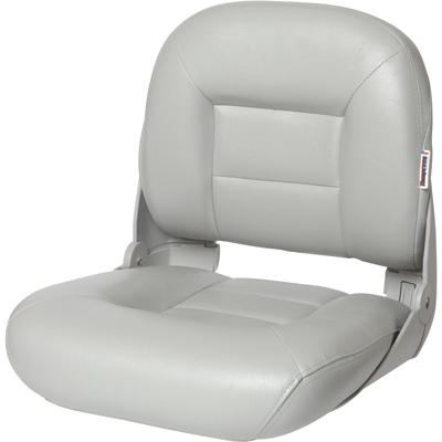 NaviStyle™ Low-Back Boat Seat - Gray 54670_