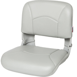 High Back All-Weather™ Boat Seat & Cushion Combo - Gray 45602
